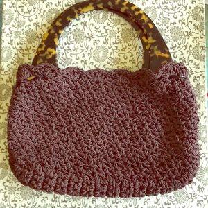 Gun-Marie Nilsson New York City crochet purse,